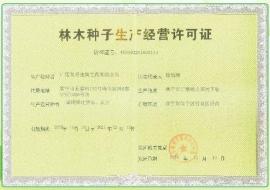 林木种子生产经营许可证